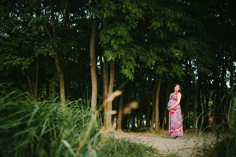 Golden Gardens maternity session