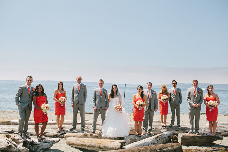Edmonds Yacht Club bridal party