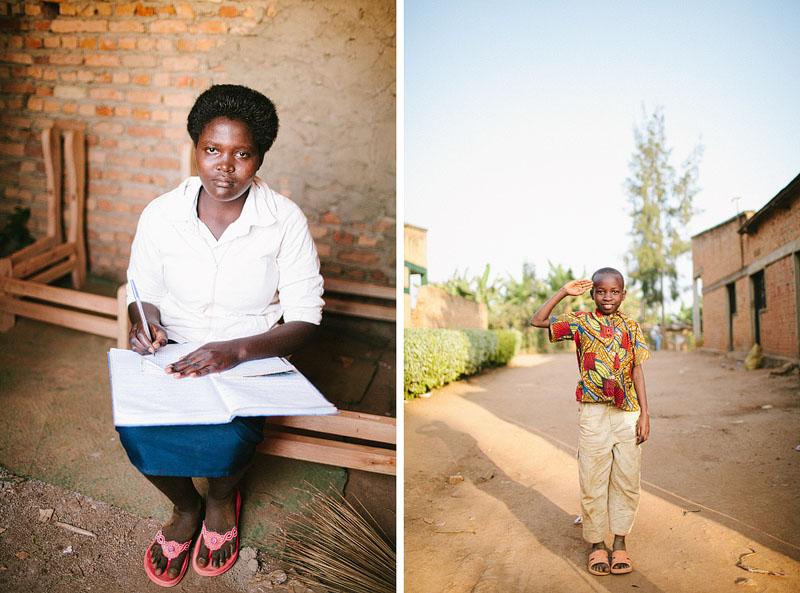 kids in Rwanda