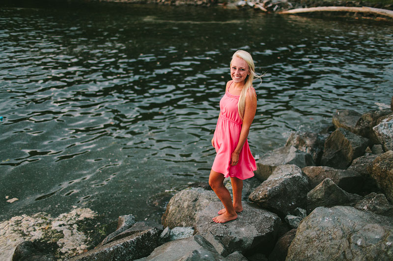 Des Moines Marina senior photos