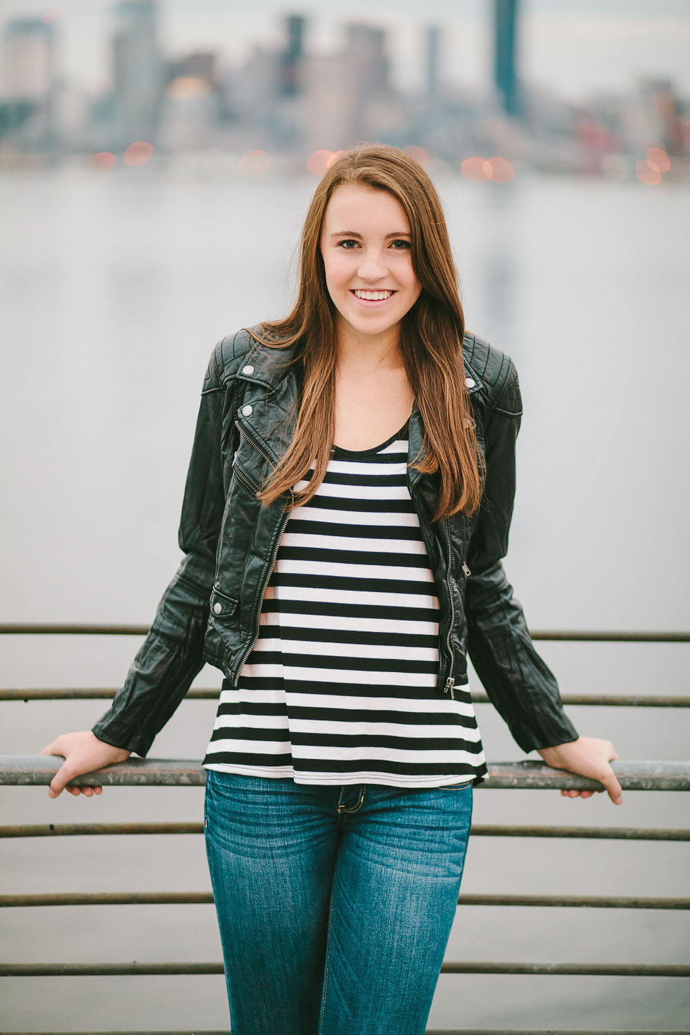 Seattle girl senior portrait photography