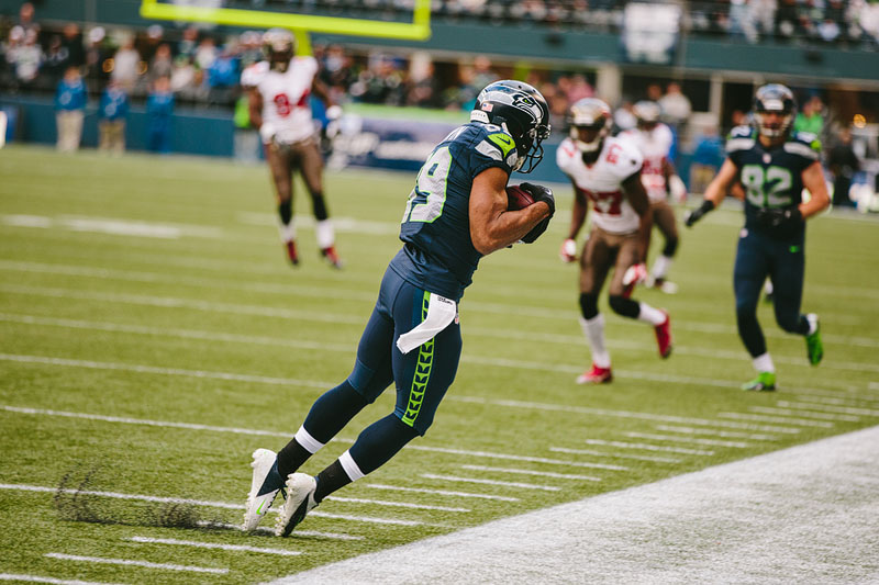Seattle Seahawks sports photography Doug Baldwin