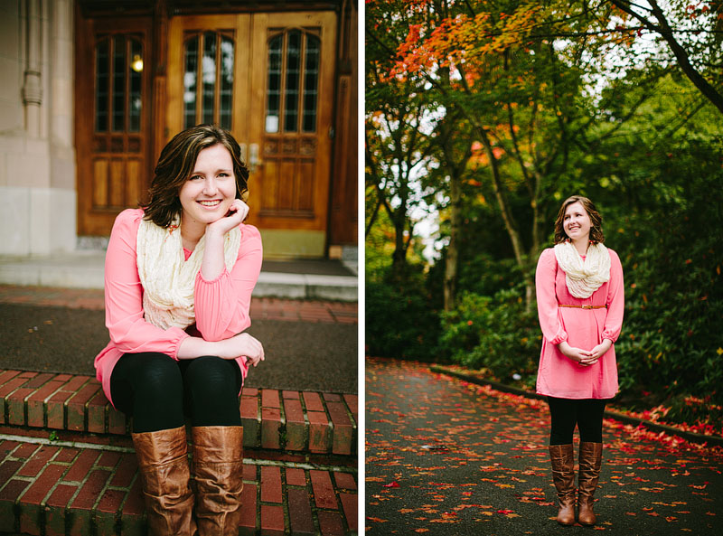 Seattle girl senior portrait
