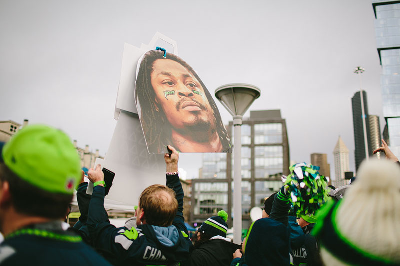 Seattle Seahawks sports photography - Mike Fiechtner Photography