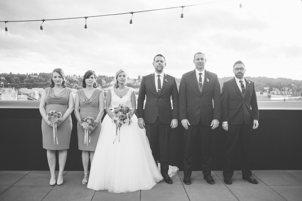 Ballard Hotel Wedding photography Seattle