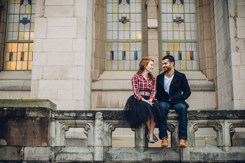 University of Washington Seattle engagement photography - Mike F
