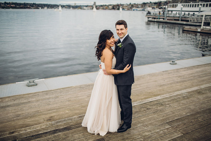 South Lake Union MOHAI Seattle wedding photography
