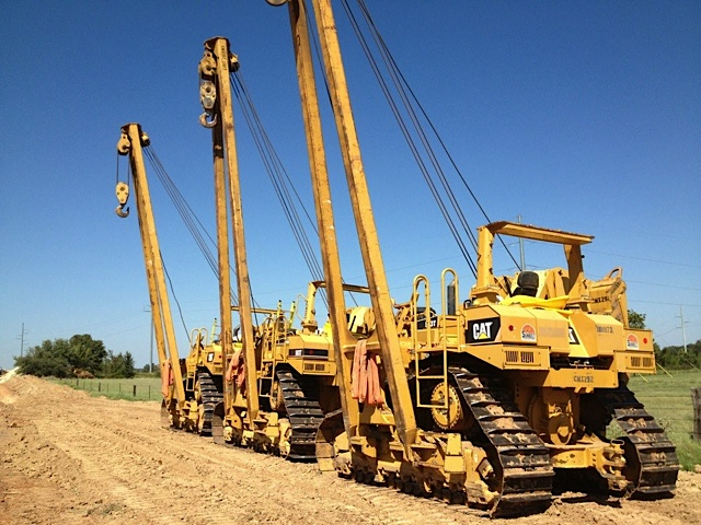 583T Caterpillar Pipelayer