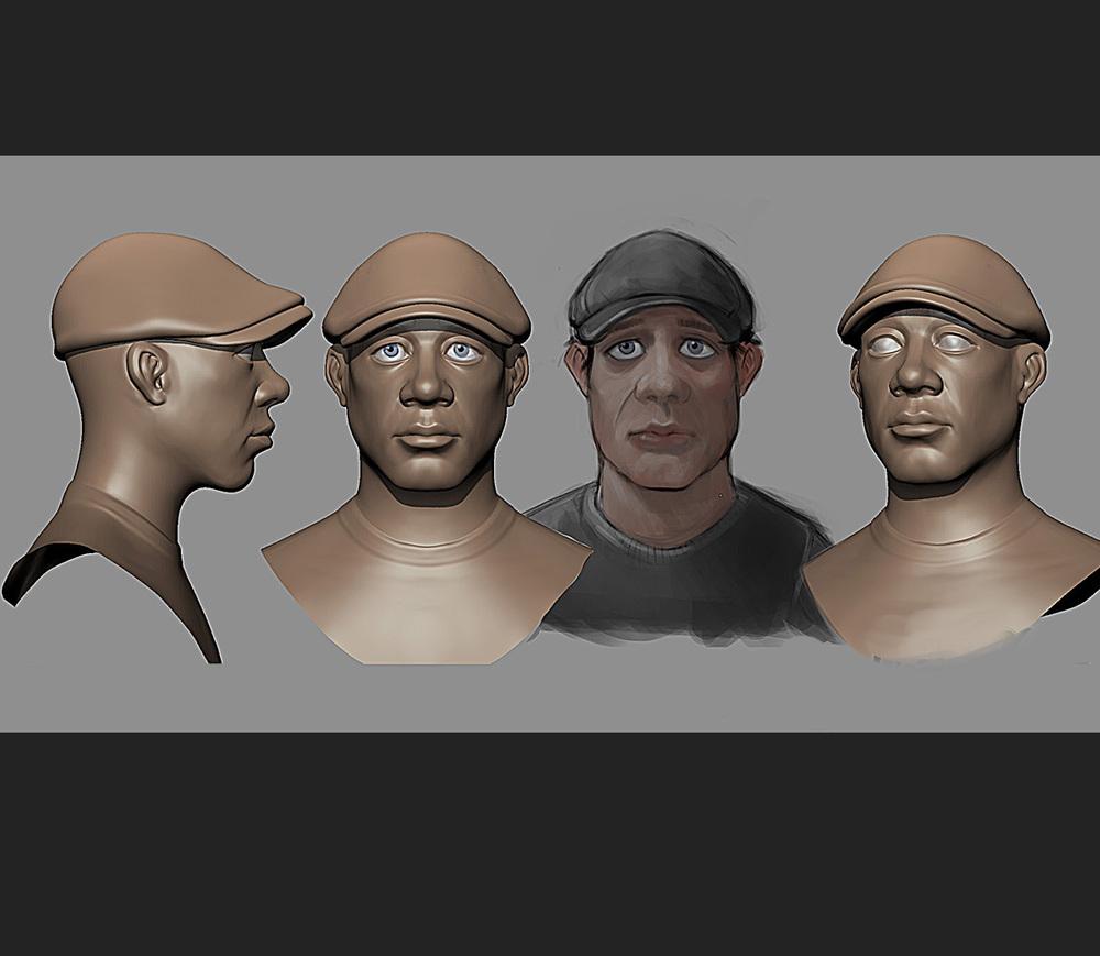mudbox sculpt/concept
