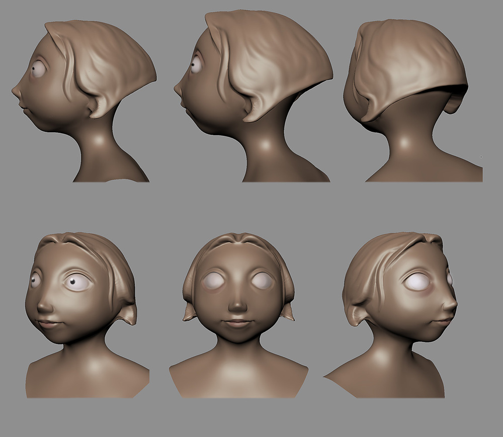 girl sculpt