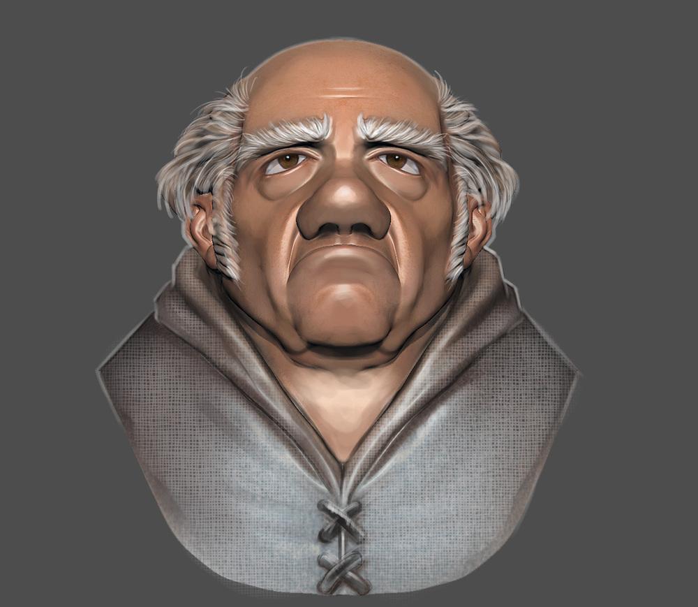 grumpy friar sculpt