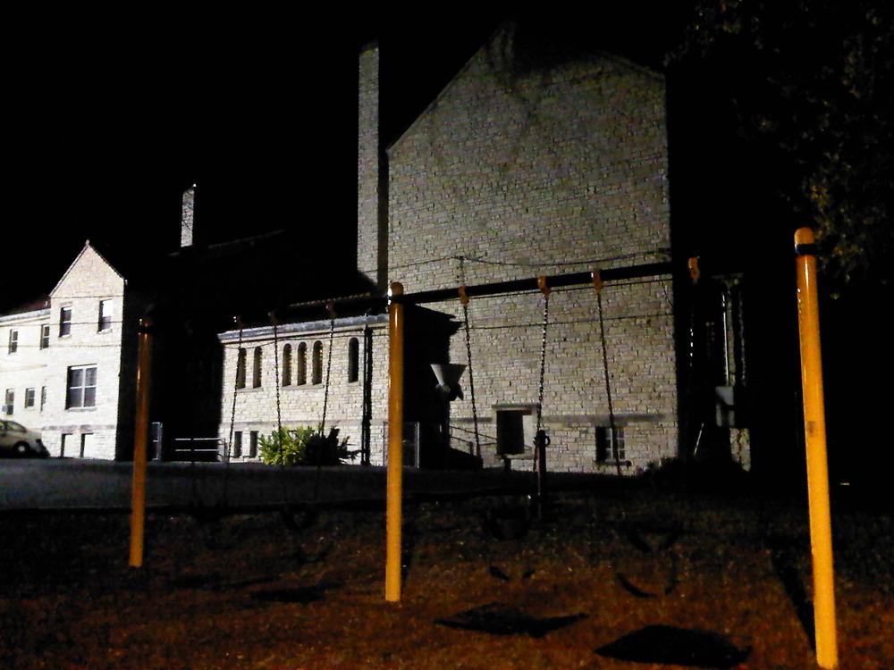 Church-swingset-at-night
