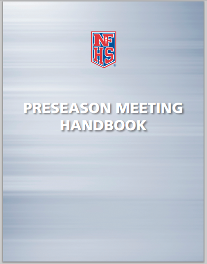 NFSH Coaches Association - Preseason Meeting Handbook (pdf)