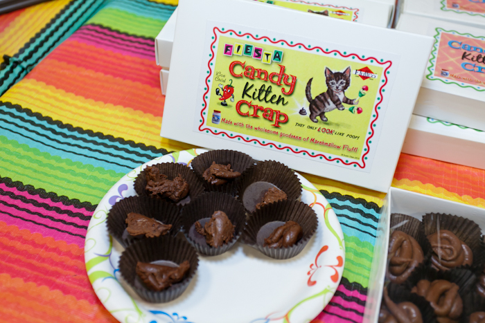 Susan Olsen of the Brady Bunch makes and sells this awesome candy to benefit the animals!
