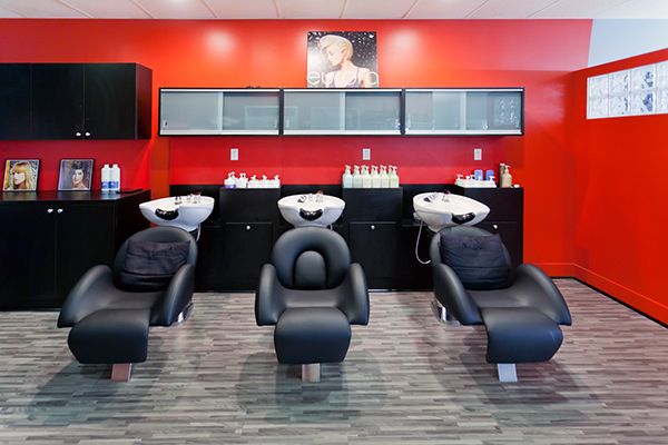 Salon Remodeling photography
