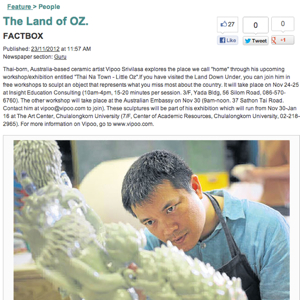 The Land of Oz Bangkok Post, Thailand
