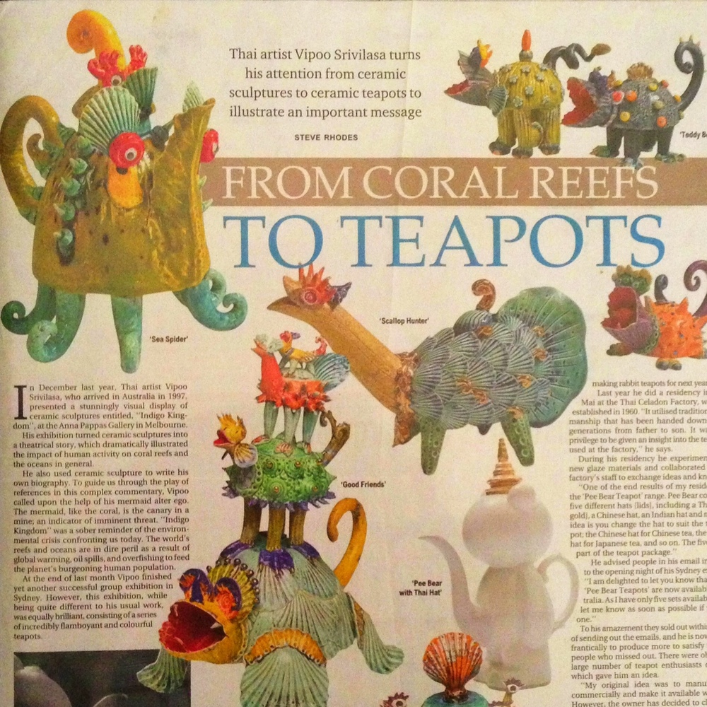 From Coral Reefs to Teapots Bangkok Post, Thailand