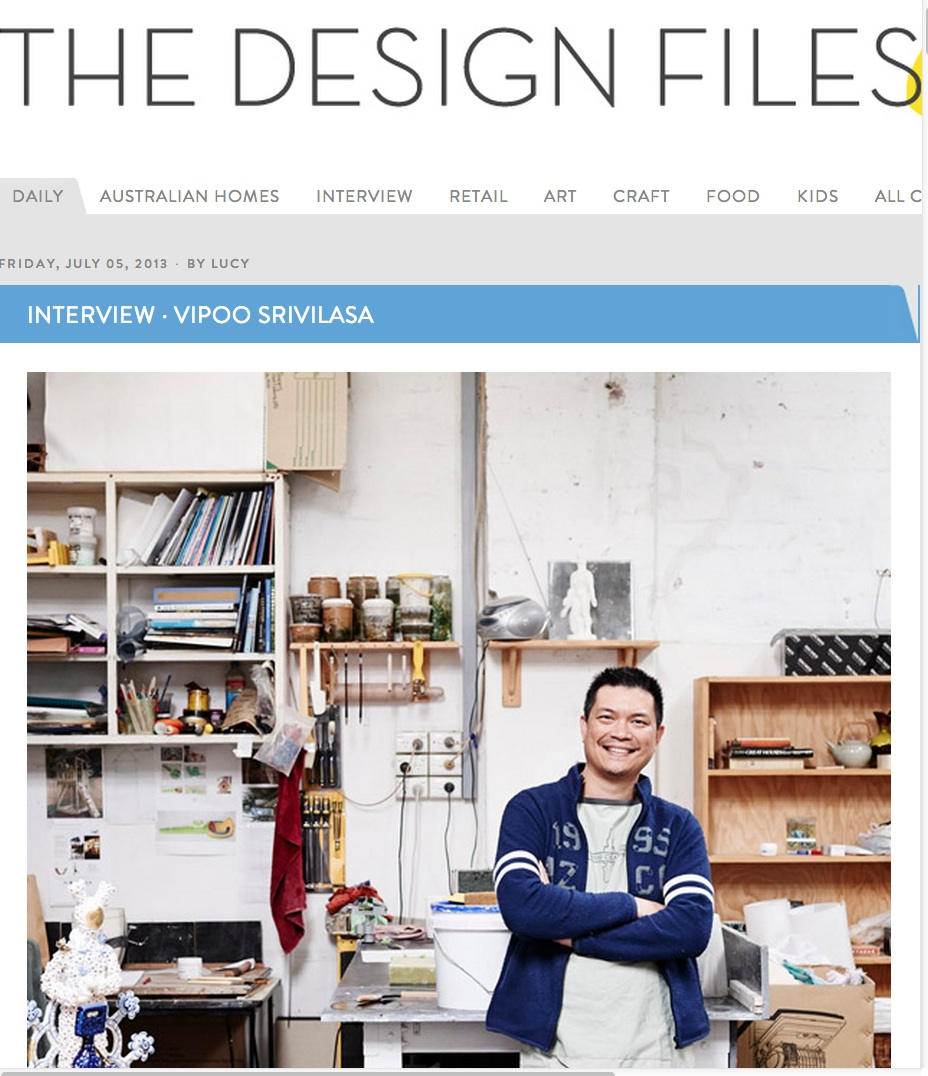 The Design Files interview.