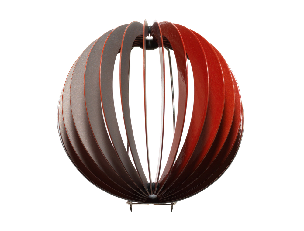 Orbit Red   | 2009 | Stainless Steel, Rubber, Paint | Image: Grant Hancock