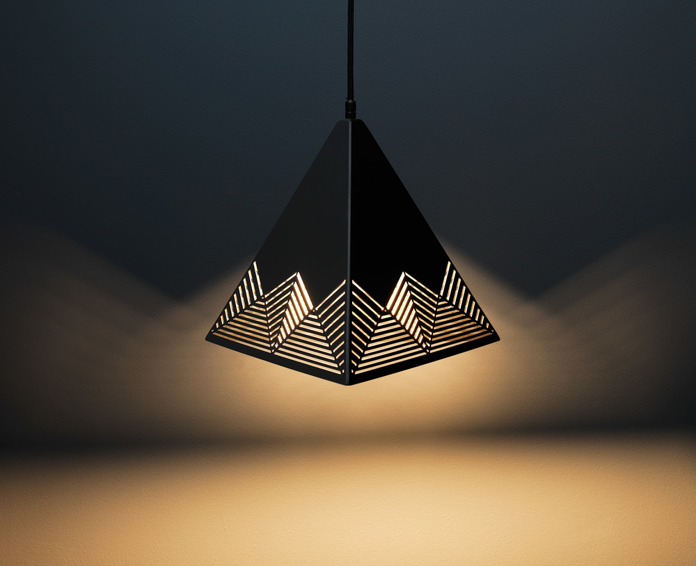Peak Pendant Lamp - Black