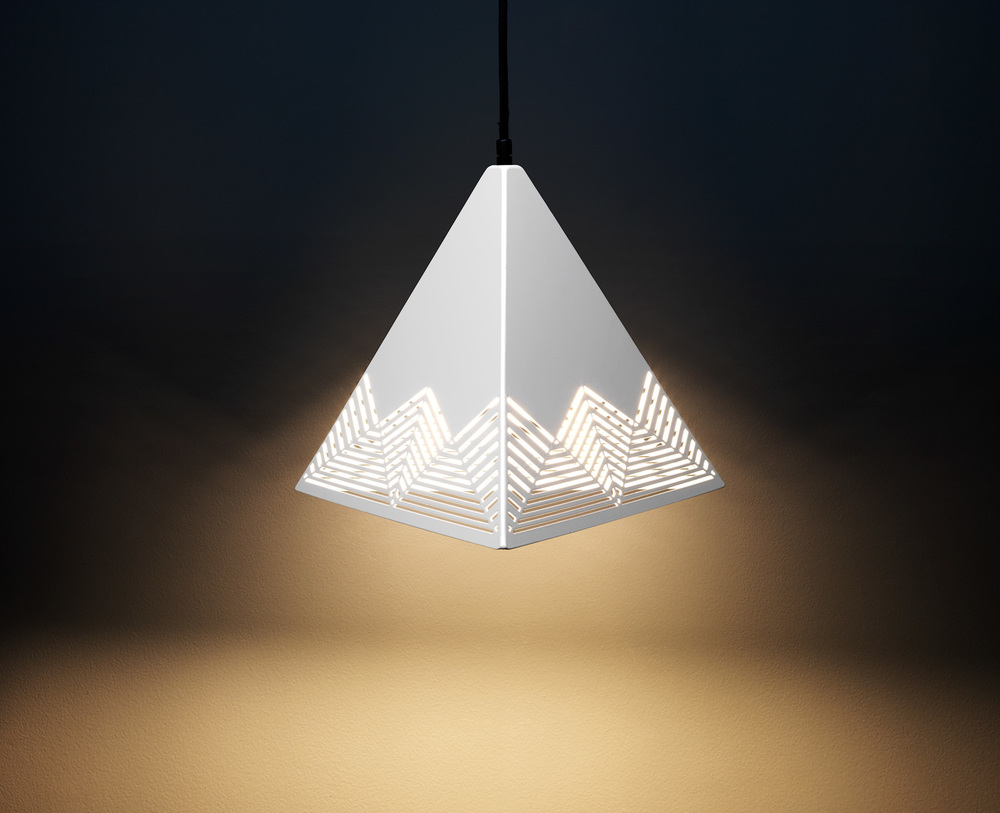 Peak Pendant Lamp - White