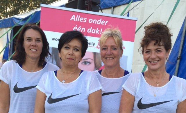 Het team van women sports only Schoonhoven