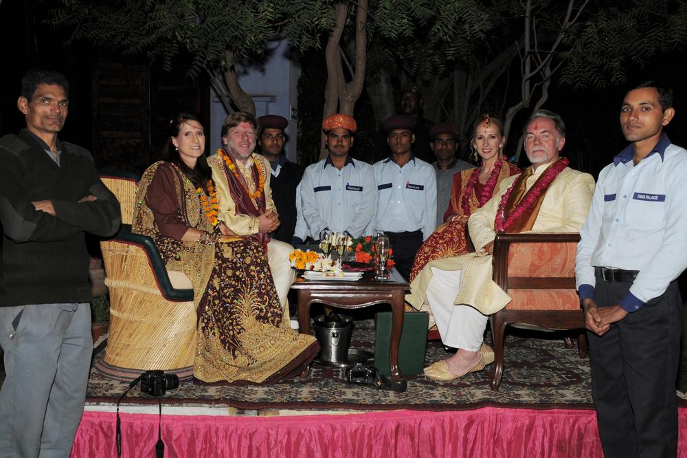 Our Wedding Entourage in Jaipur, Rajasthan, India...