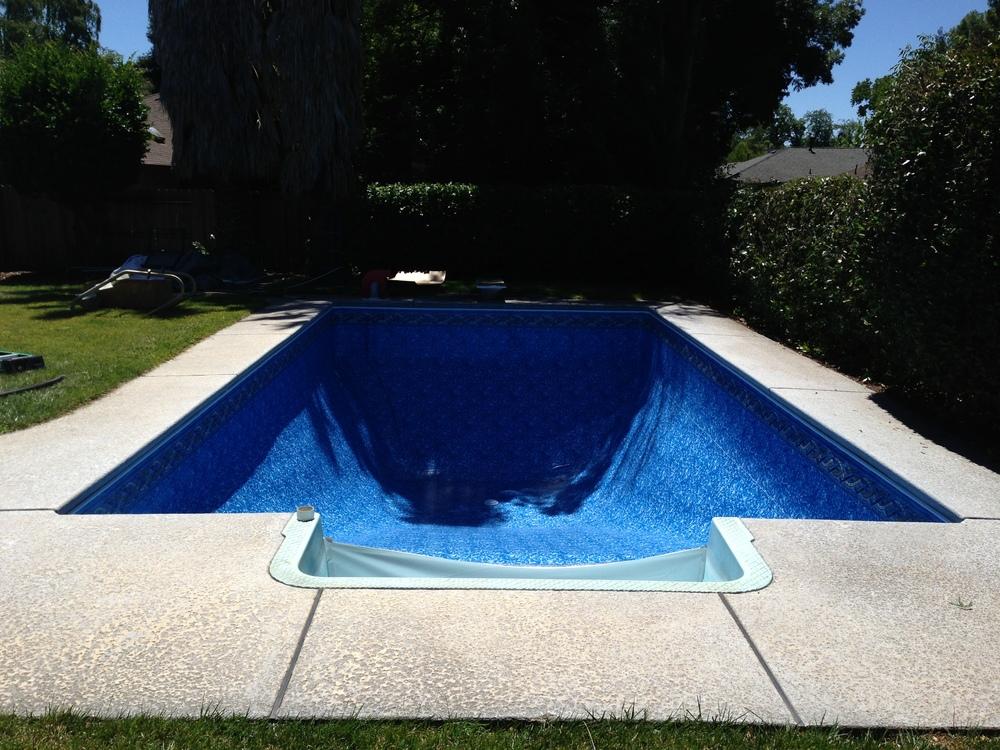 16x32 pool liner round above ground repair vinyl sale Liner 5 50 x 1 32