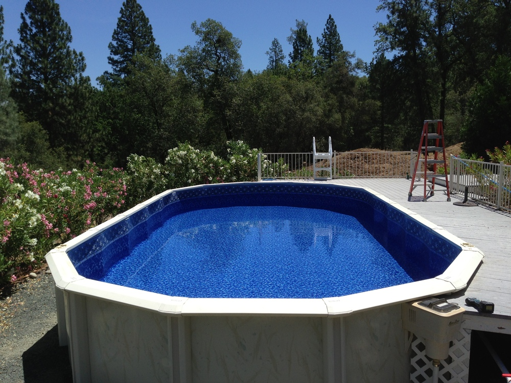 16x32 Reline In Grass Valley Ca Above The Rest Pools Inc