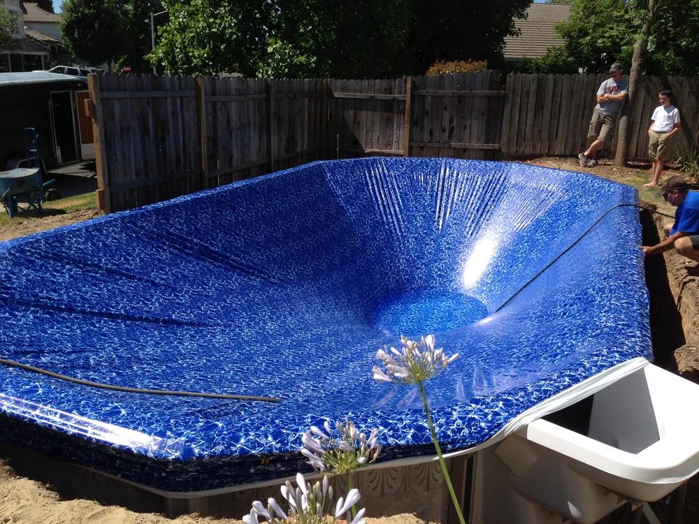 16x32 Installed In Roseville Ca Above The Rest Pools Inc