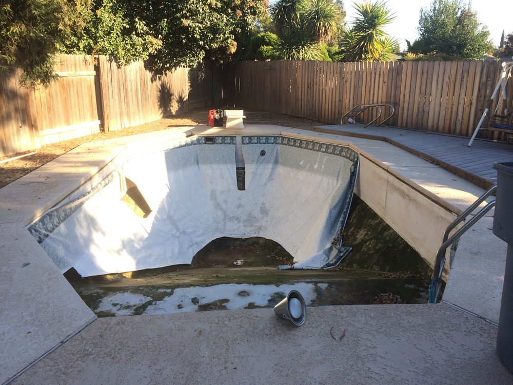 15x30 Inground Reline In Yuba City Ca Above The Rest Pools Inc