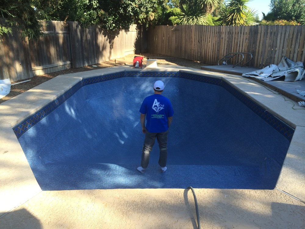 15x30 Inground Reline In Yuba City Ca Above The Rest