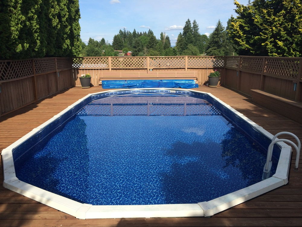 16x32 Reline In Oregon City Oregon Above The Rest Pools Inc
