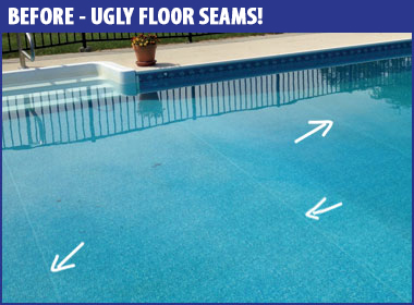 Inground Liner Replacement Above The Rest Pools Inc