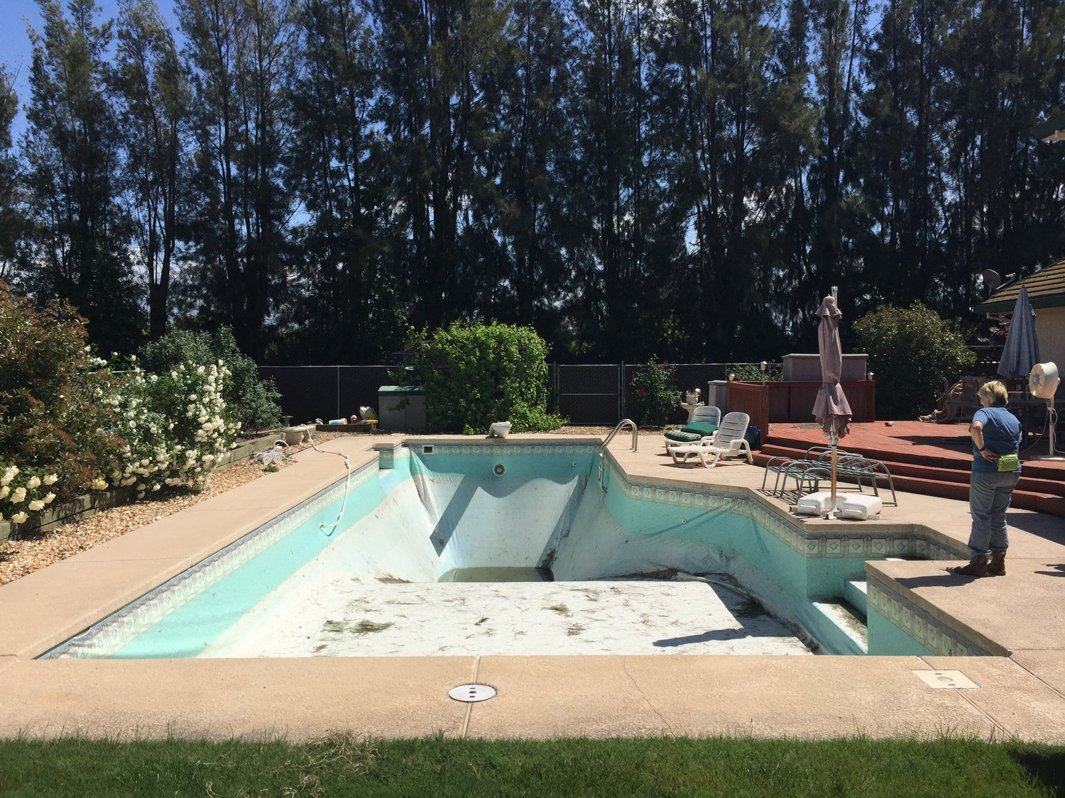Inground Liner Replacement — ~Above the Rest Pools Inc.~