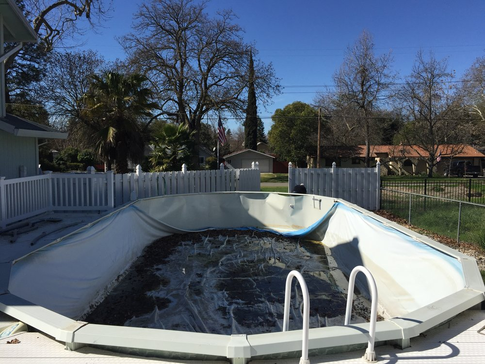 Above Ground Liner Replacement — ~Above the Rest Pools Inc.~