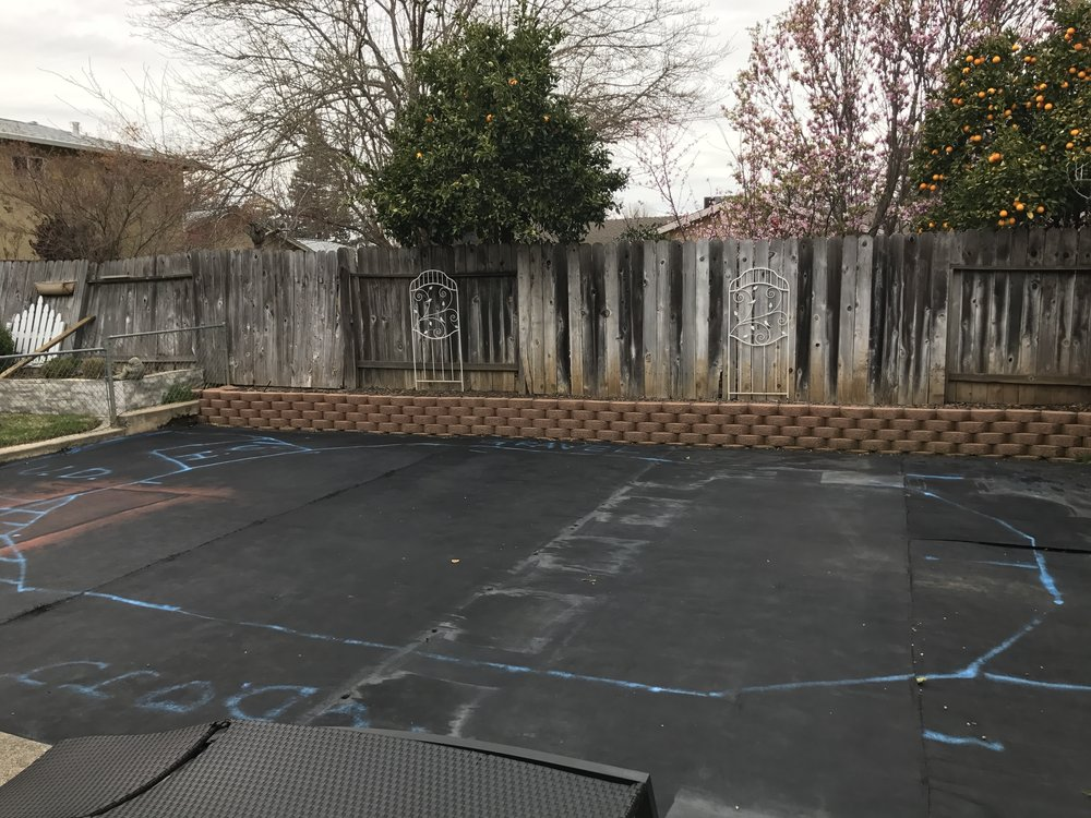 16x24 Above Ground Pool Installation In Vacaville Ca