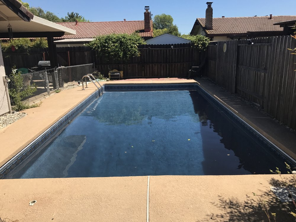16x32 Inground Vinyl Liner Installation In Marysville Ca