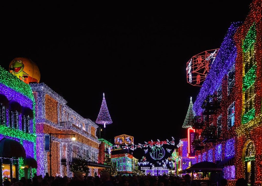 Osborne Family Festival of Lights, Hollywood Studios, Walt Disney World, Lake Buena Vista, Florida