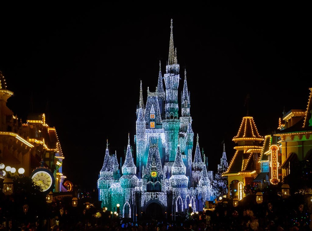 Cinderella's Castle, Magic Kingdom, Walt Disney World, Lake Buena Vista, Florida