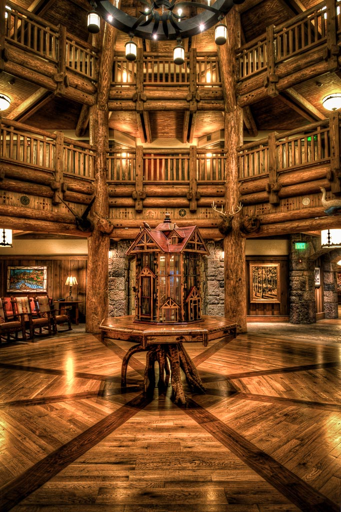 Wilderness Lodge Villas, Walt Disney World, Lake Buena Vista, Florida