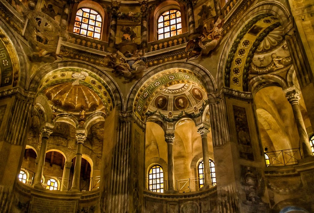 Basilica di San Vitale, Ravenna, Italy