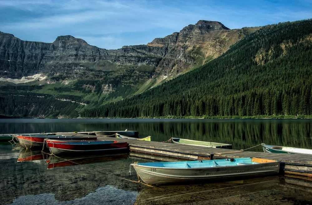 Cameron Lake, Waterton Lakes National Park, Alberta