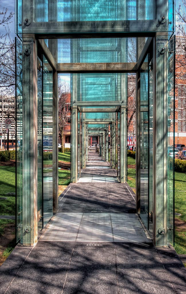 New   England Holocaust Memorial, Boston, Massachusetts