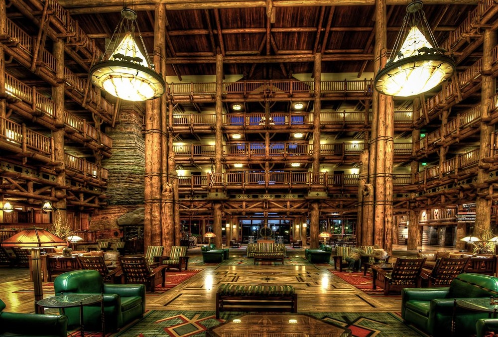 Wilderness Lodge, Disney World, Lake Buena Vista, Florida