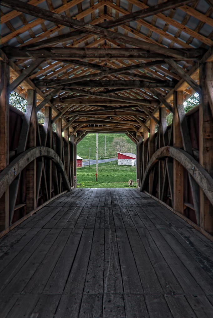 Zook's   Mill Covered Bridge, Lancaser County, Pennsylvania