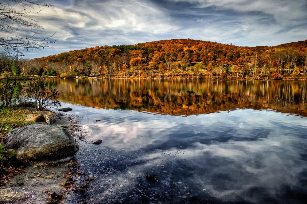 Lake Waramaug State Park, Kent, Connecticut