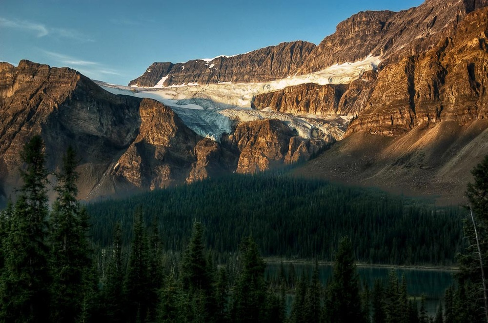 Crowfoot Glacier, Icefields Parkway, Banff National Park, Alberta, Canada