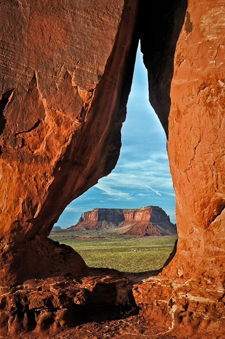 Tear Drop Arch, Monument Valley, Utah / Arizona Border