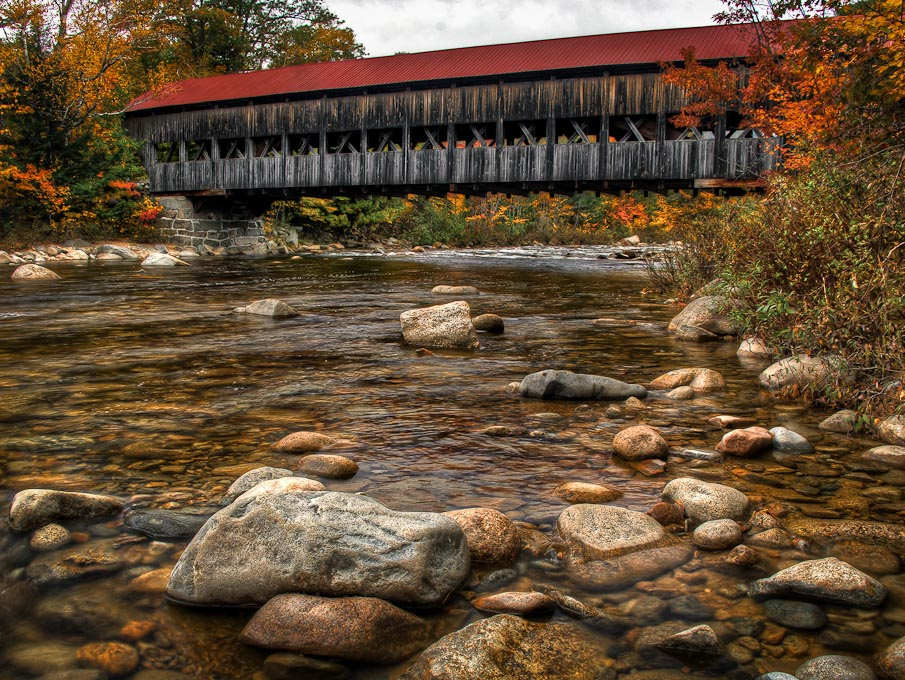 Albany   Covered Bridge, Kancamagus Highway, New Hampshire